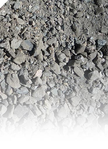 Gravel from rail beds
