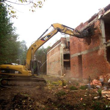 Demolice kulturního domu, Ralsko