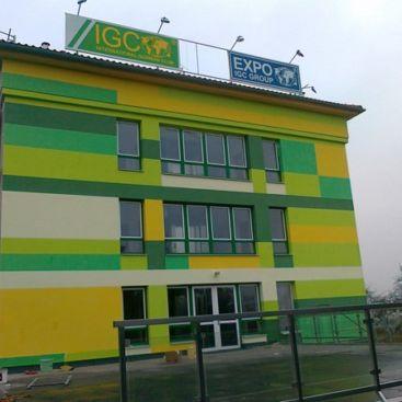 Změna č. 2 stavby IGC centrum v Praze 9 – Hloubětíně