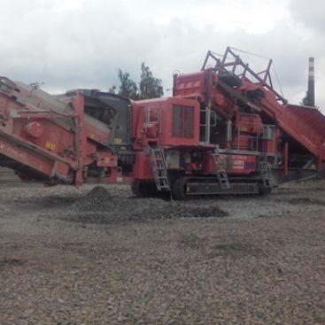 Recyklace štěrků Ruda nad Moravou