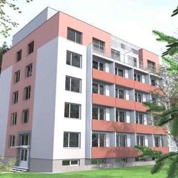 Nástavba panelového domu Novoměstská 61, Brno-Řečkovice