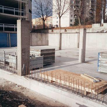 Vznik nového střediska Monolitických konstrukcí