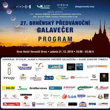 27. Brněnský předvánoční galavečer 2019