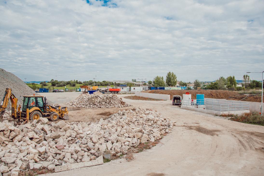 Středisko Recyklace minerálních odpadů Černovická terasa